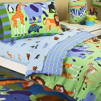 Jungle Bedding For Kids Jungle Safari Animals Toddler