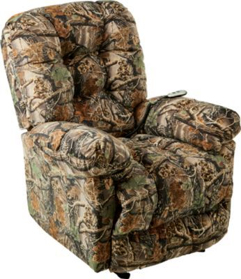 Orlando Recliner with Power  Cabelas Seclusion 3D