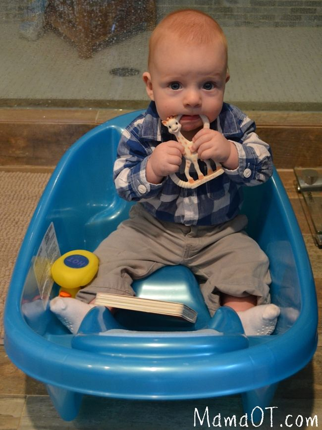 Better Than A Bumbo 5 Ways To Support A Wobbly Sitter