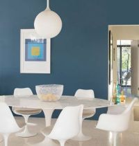Blue Wall Color: a collection of Home decor ideas to try ...