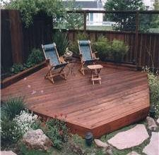 How To Build A Detached Outdoor Deck Wood Decks Decks And Comment