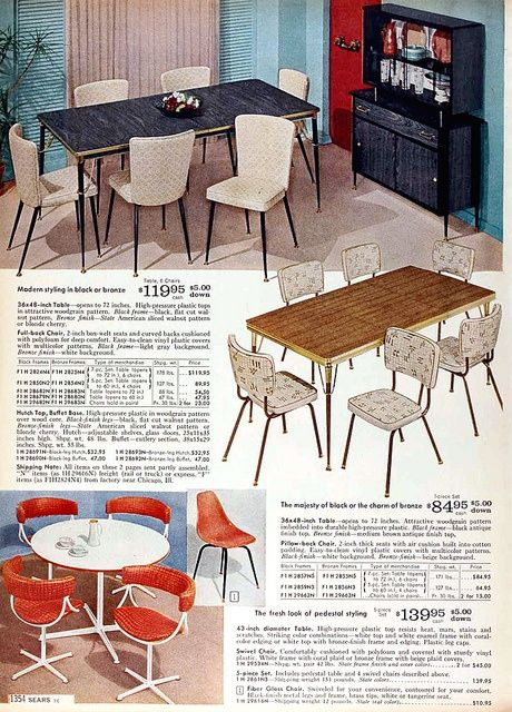 fall kitchen decor stand alone island sears catalog furniture 1960 | ...