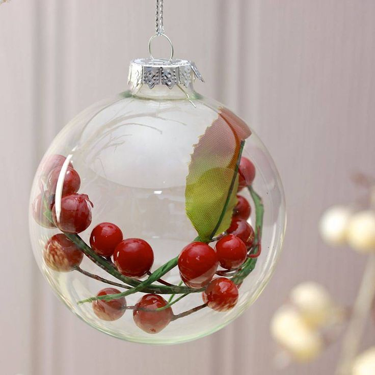 17 best ideas about clear christmas ornaments on pinterest