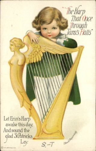 17 Best Images About St Pattys Vintage Postcards On Pinterest