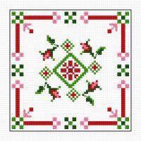 17 Best images about cross stitch - biscornu on Pinterest ...