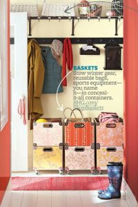 Top 25 ideas about Entry Closet Organization on Pinterest ...