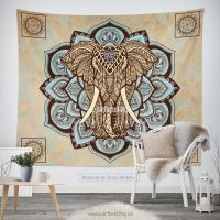 25+ best ideas about Elephant Tapestry on Pinterest