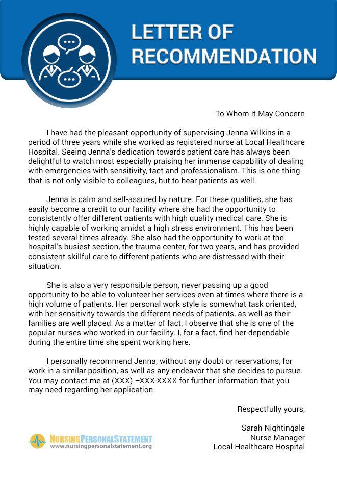veterinary school recommendation letter sample