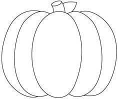 17 Best ideas about Pumpkin Template Printable on
