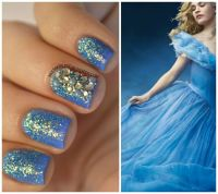 disney cinderella nail art - Google Search | nail art ...