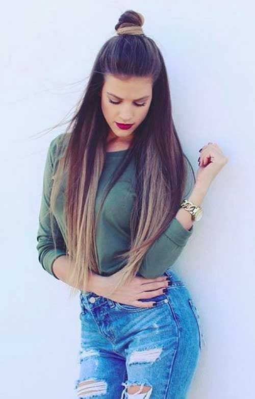 25 Best Ideas About Straight Hairstyles On Pinterest Easy Side