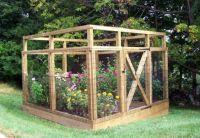 Vegetable Garden Fence Plans   Backyard vegetable garden ...