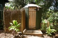 Outdoor bathroom made from old grain silo! by Ashley ...