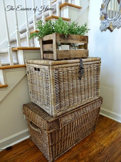 1000 Images About Baskets On Pinterest Trays Hampers And Traditional Living Rooms