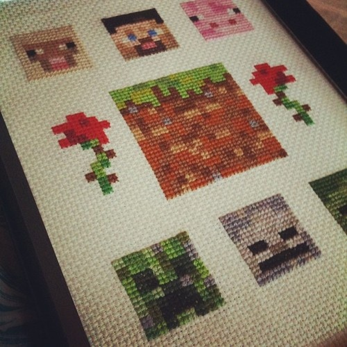 18 best images about CROSSTITCHminecraft on Pinterest