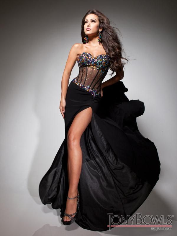 Corset Bodice Prom Dress