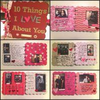 Boyfriend Gift Idea: Chipboard Scrapbook | Boyfriends