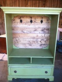 Great way to repurpose a old tv cabinet   Repurpose ...