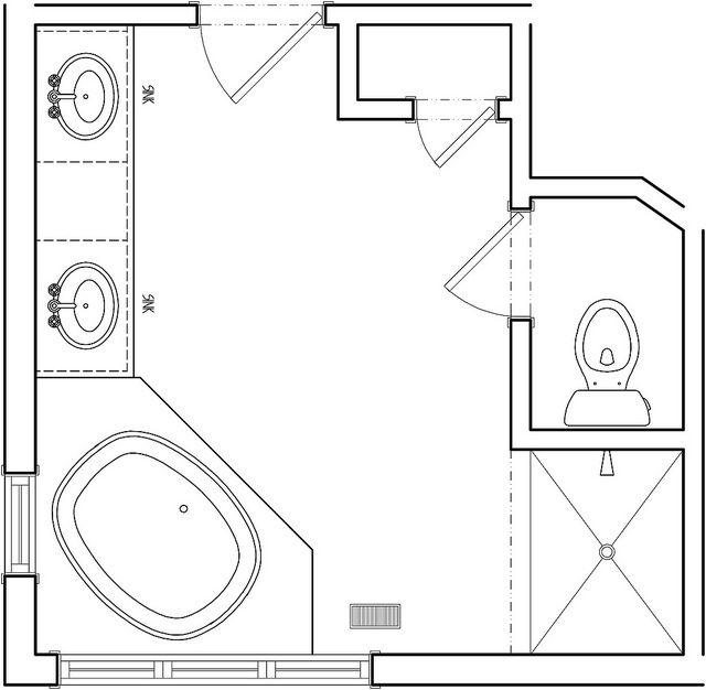 25+ best ideas about Master Bathroom Plans on Pinterest
