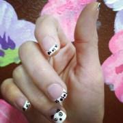 1000 ideas panda bear nails