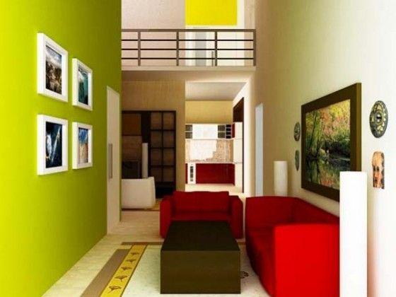 Interior Rumah Minimalis Sederhana untuk Rumah Tipe 36 dan Tipe 21  Home Desain  Pinterest