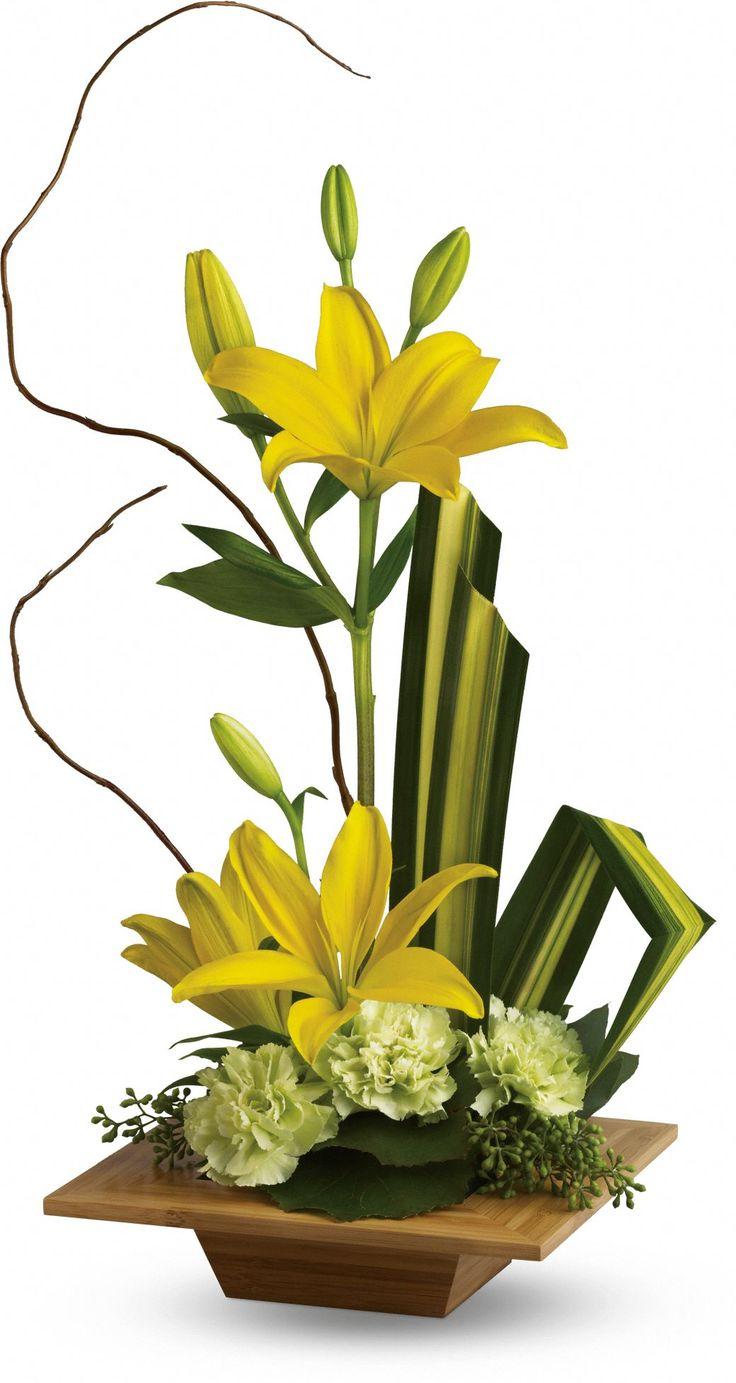 Telefloras Bamboo Artistry bouquet