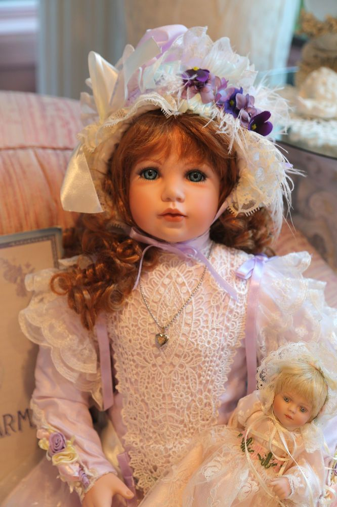 EXQUISITE Rachel Masterpiece Porcelain Doll By Thelma