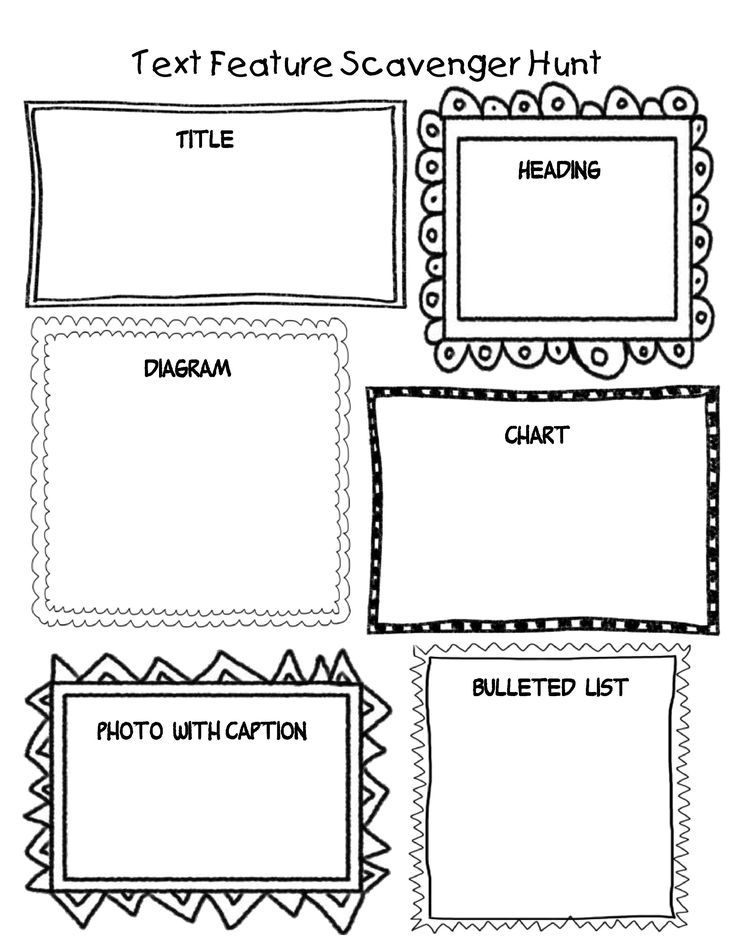 Create one of these! Students could then create one of
