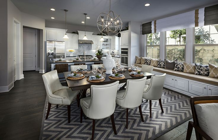 Pulte Homes Interior THE COLOR SCHEME AND TRANSITIONAL