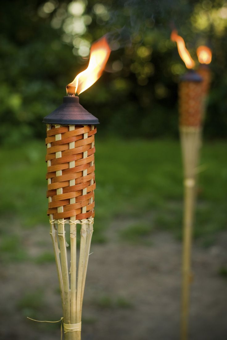 25+ best ideas about Tiki Torches on Pinterest