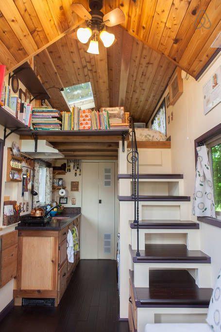 17 Best ideas about Tiny House Interiors on Pinterest  Tiny house bedroom Building a tiny