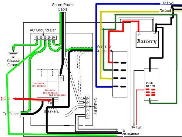 Viking Refrigerator Wiring Diagram Electrical Schmatic Camper Camping Pinterest