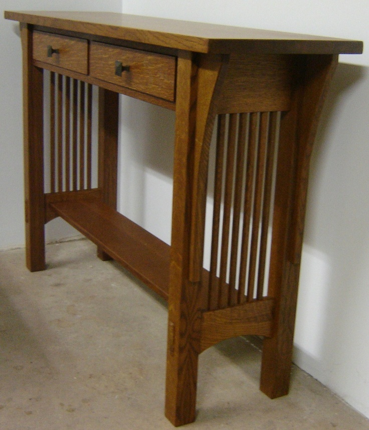 the chair outlet portland wood baby high mission style sofa table plans free - woodworking projects &