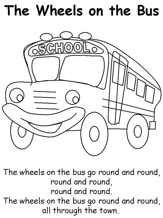 72 best images about Wheel's on the bus on Pinterest