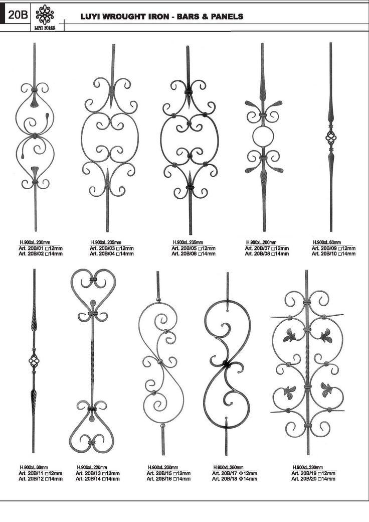 1000 images about Design  Wrought Iron Bronze Cast Iron on Pinterest  Entrance gates
