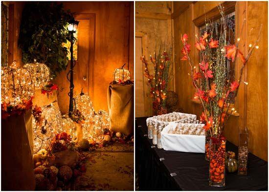 Diy Fall-themed Wedding