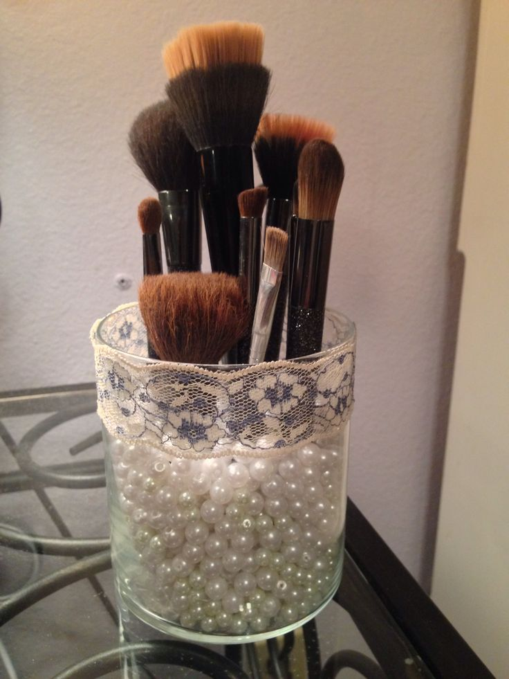 17 Best ideas about Makeup Brush Holders on Pinterest  Brushing Makeup brush organizer and