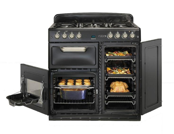 Cocina a gas 90x60 Beko Leisure CM09FRK  Cocinas