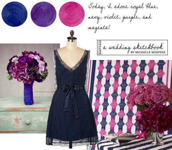 1000 ideas about Purple Navy Wedding on Pinterest  Black