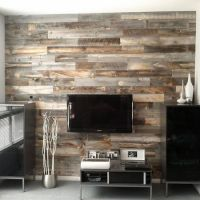 25+ best ideas about Wood Feature Walls on Pinterest