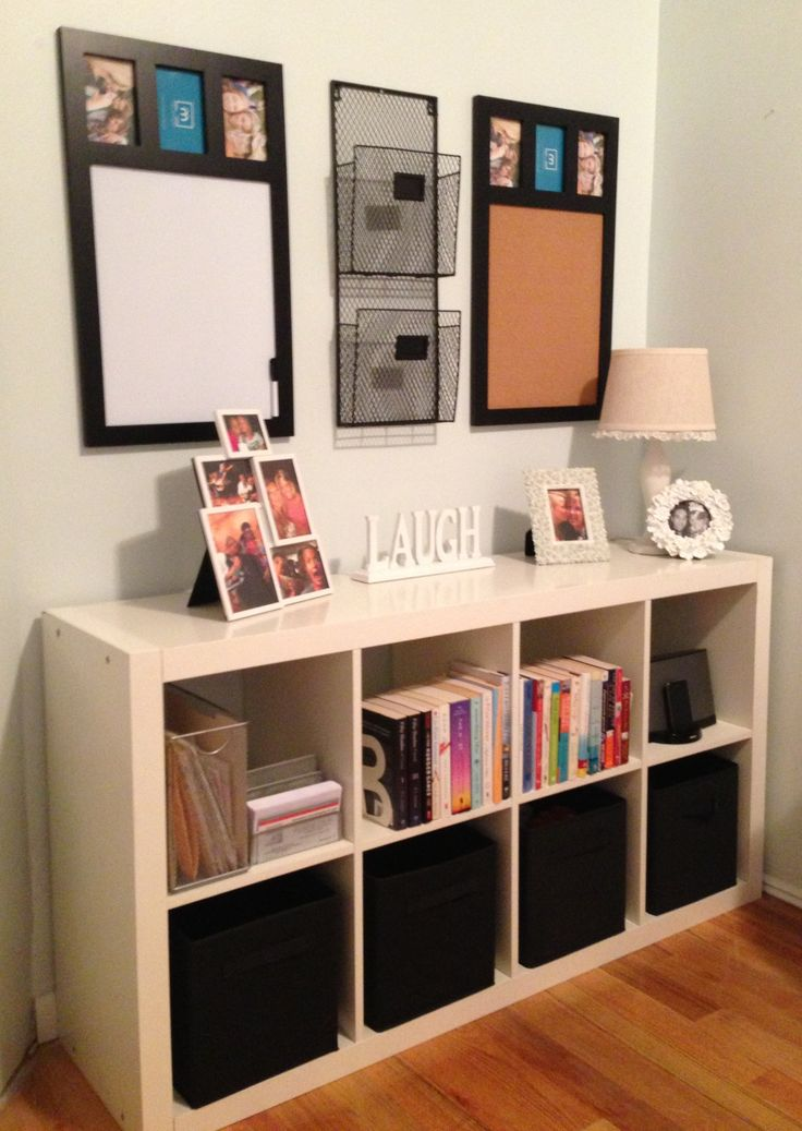 ikea ideas for small kitchens menards kitchen islands command center using and expedit shelf matching ...