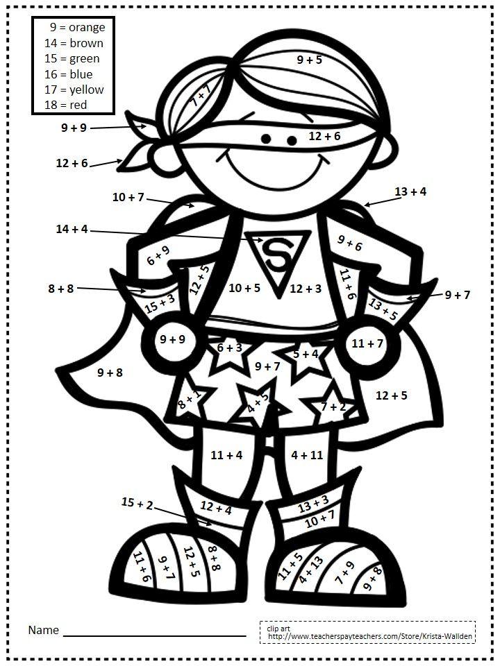 25+ great ideas about Math Superhero on Pinterest