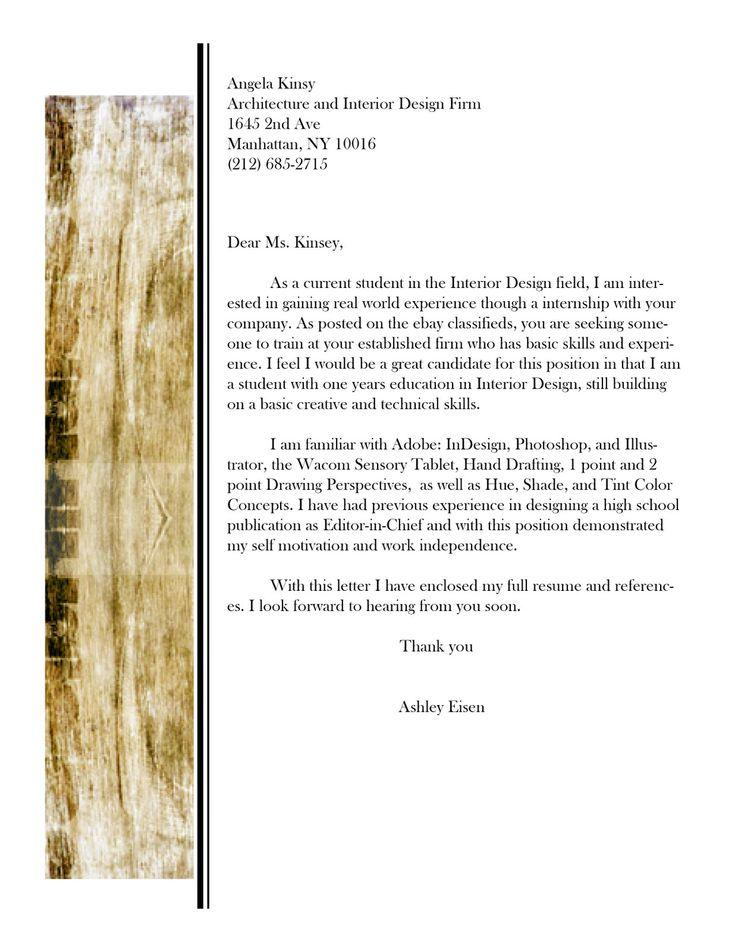 cover letters for interior designers interior design resume sample