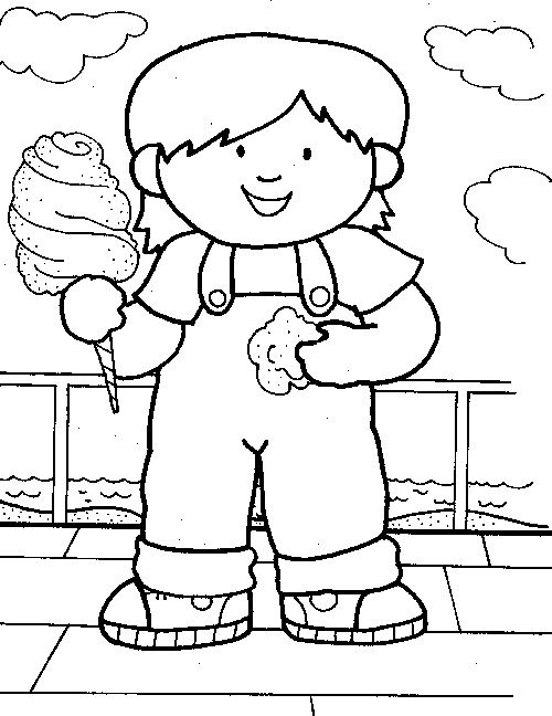 Cotton Candy Coloring Pages Home Sketch Coloring Page