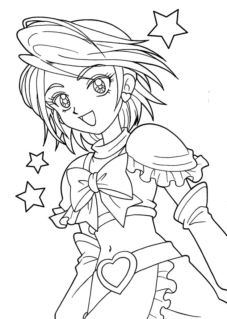 Coloring Pages Girl Adults People