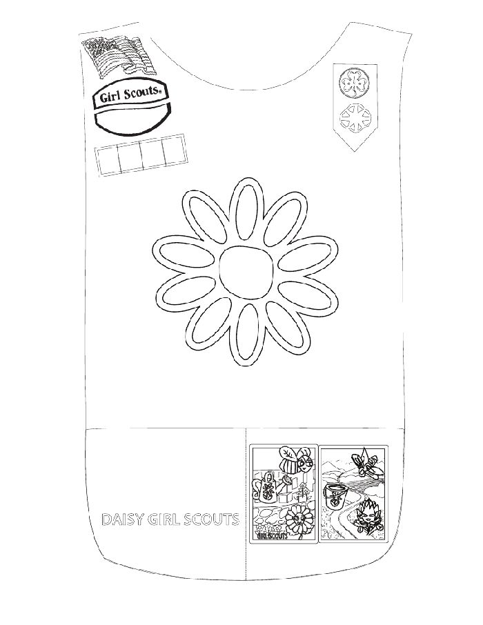 17 Best images about Girl Scout coloring pages on