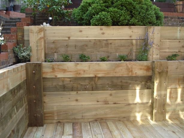 29 Best Images About Back Garden Wall Ideas On Pinterest Gardens