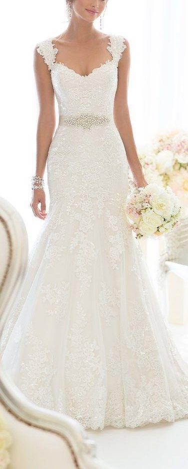 Best 25 Wedding dress straps ideas on Pinterest