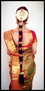 traditional south indian bride's