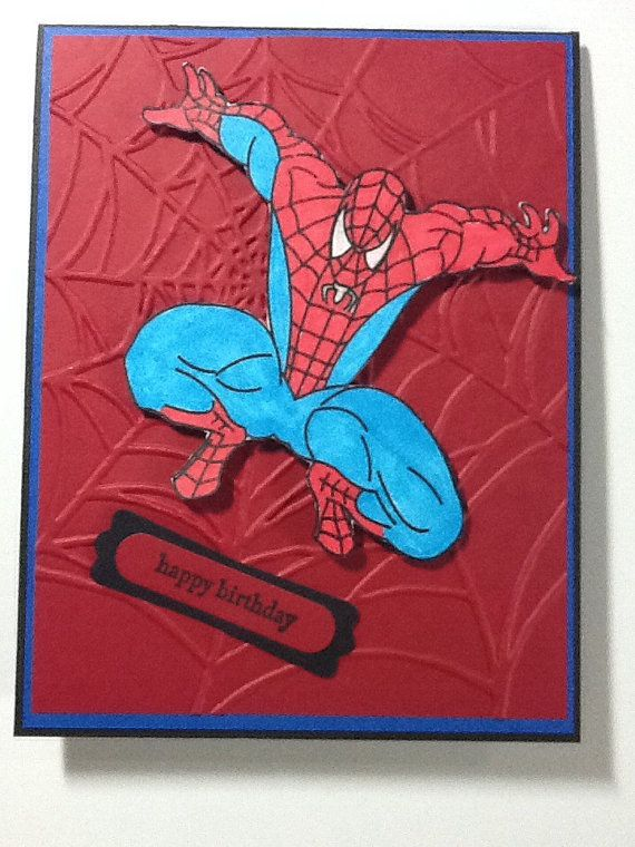 1000 Images About Spiderman Cards On Pinterest Super